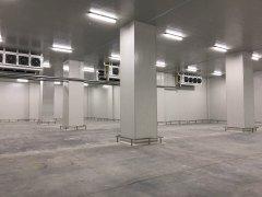 建造大型冷链配送中心冷库(生鲜配送冷库)设计建造多少钱