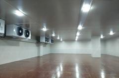 上海统一建造544m3饮料食品原材料冷冻冷藏库新工