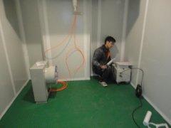 气调冷库安装设计工程(华中农业大学实验室)